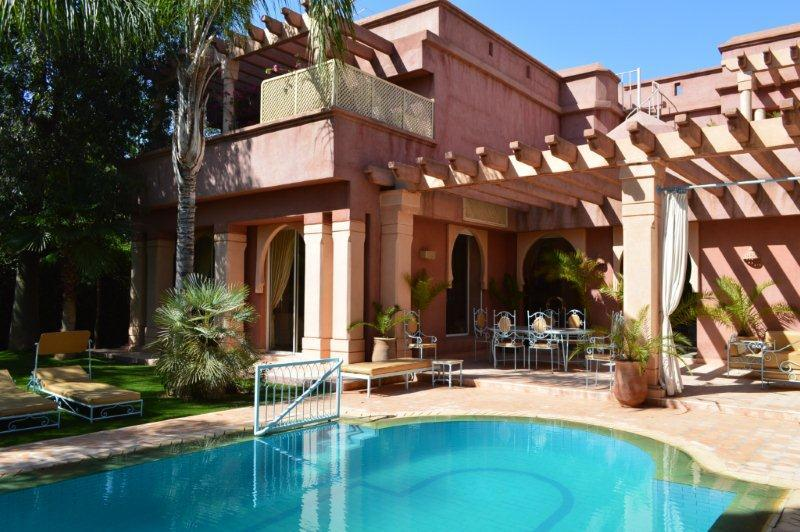 Villa à louer Marrakech Amelkis